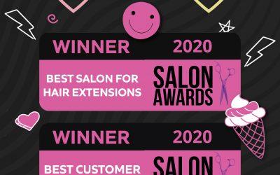 Salon Awards: Boombae Won Two Categories!